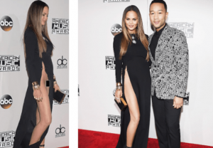 chrissy-teigen-attends-the-2016-ama-in-a-very-high-slit-dress-with-no-underwear-showing-theinfogist