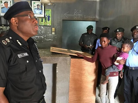 You Won't Believe What Police Commissioner Did to a Woman Who Stole Plantain (Photos)