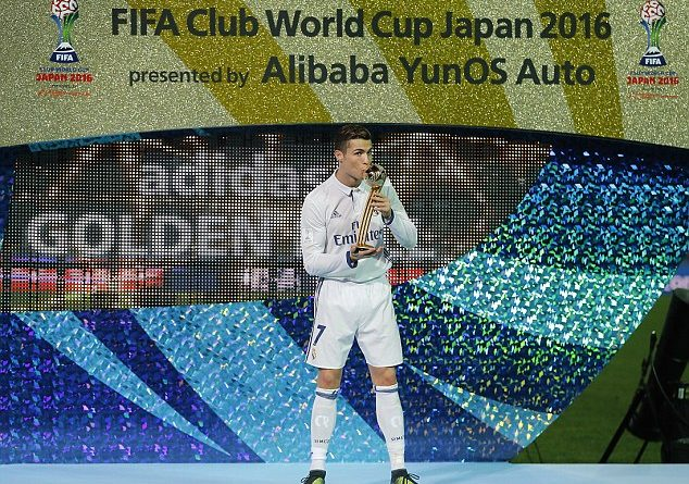 Christiano Ronaldo FIFA player-2016-theinfogist-com