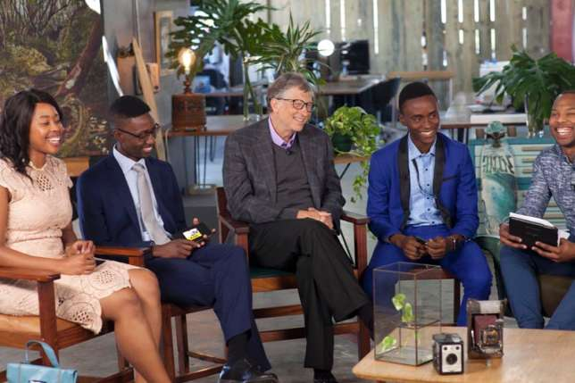 23-Year-Old Nigerian Man Pictured With Bill Gates As He Turns Down His Job Offer