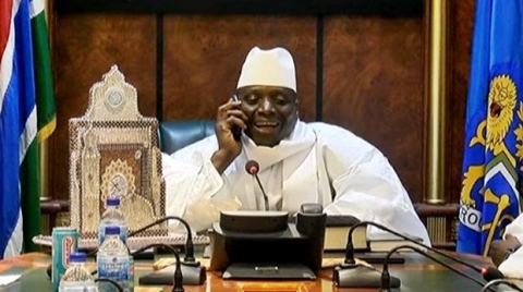 Watch How Gambian President Congratulated His Opponent After He Lost the Election (Video)