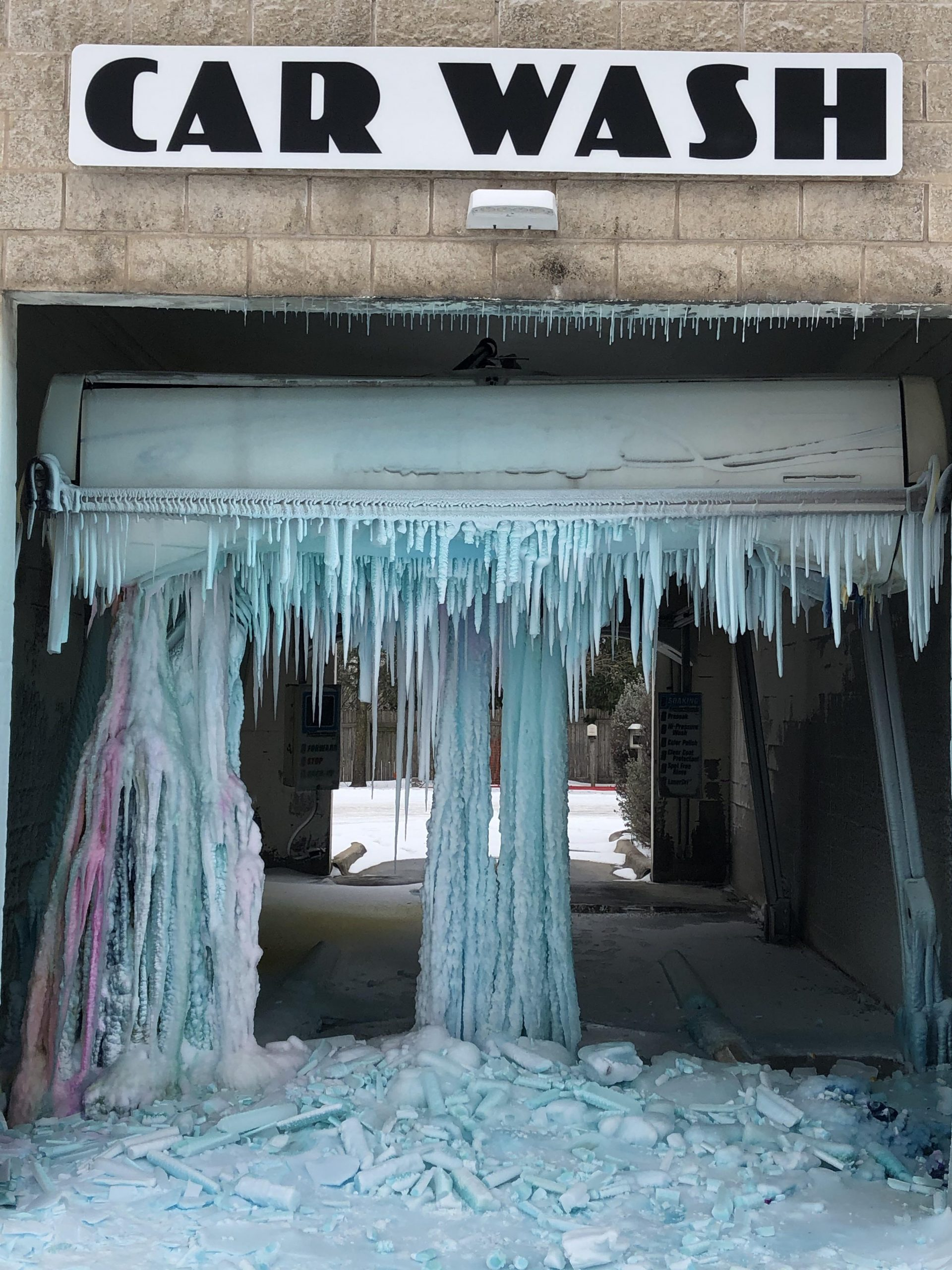 Surreal Pictures Of The Crazy Texas Cold