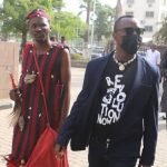 Omoyele Sowore storms court with herbalist-(video)