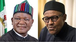 GOVERNOR ORTOM MEETS WITH PRESIDENT BUHARI AFTER HIS ATTACK