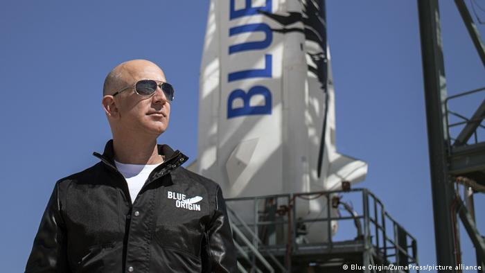 Thousands sign petition calling for Jeff Bezos to be denied re-entry to Earth after space trip